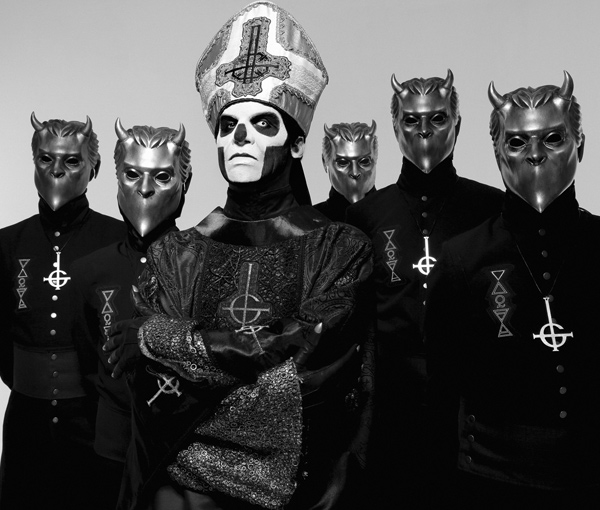 Satanic Majesties: Fresh off Grammy nod, Ghost brings ritual to Grand Rapids