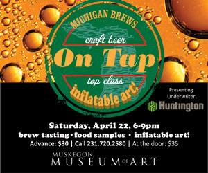 Muskegon Museum of Art On Tap event