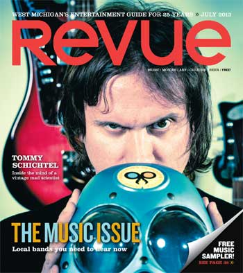 Revue's Music Issue cover