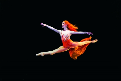 "Yuka Oba-Muschiana in Possokhov's ""Firebird."""