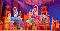 "Disney's ""Aladdin"" on Broadway."