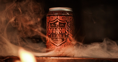 Dragon's Share Bourbon Barrel Seltzer from New Holland.