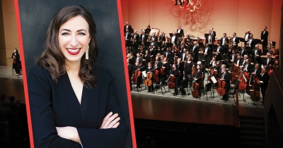 KSO Orchestra, KSO Executive Director Jessica Mallow.