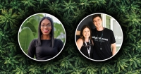 Denavvia Mojet, Black & Brown Cannabis Guild. / The Kornoelje's, Pharmhouse Wellness.