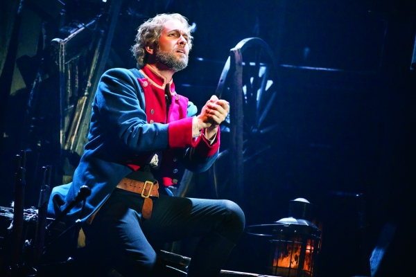Nick Cartell as Jean Valjean.