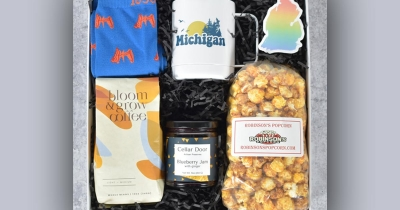 """A Michigan Moment"" gift pack."
