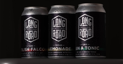 Long Road Canned Cocktails.