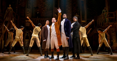 "Broadway's ""Hamilton"" in Grand Rapids."