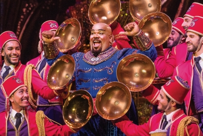 Wish Granted: How Aladdin's Genie found himself making musical magic
