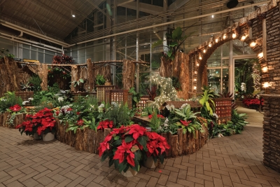 """Metro Health Christmas and Holiday Traditions"" at Frederik Meijer Gardens."