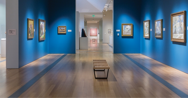 Installation view of the Grand Rapids Art Museum Permanent Collection.