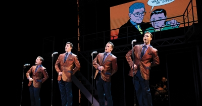 """Jersey Boys"" at Miller Auditorium."