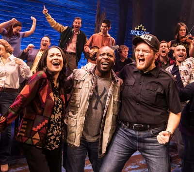 """Come From Away"" on tour."