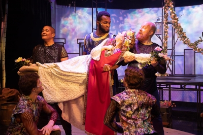 """Camelot"" at Farmers Alley Theatre."